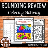 Rounding Review Coloring Activity