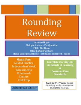 Rounding Review - Increased Rigor