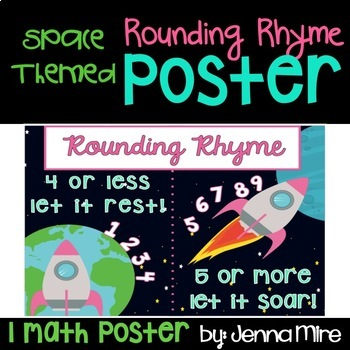 Rounding Rhyme Anchor Chart