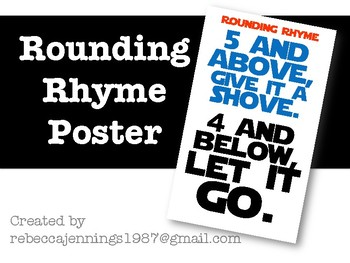 Rounding Rhyme Poster
