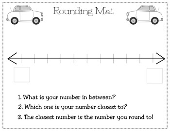 Rounding Road to Tens and Hundreds~ CCSS Aligned