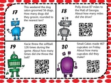 Rounding Robot Word Problems w/QR Codes