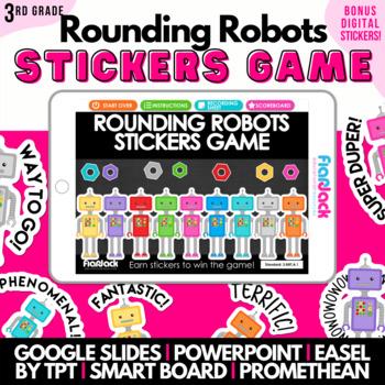 Rounding Robots SMART BOARD Game - Common Core Aligned