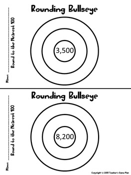 Rounding Rockets Bundle PPT and 175 Rounding Exit Tickets