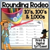 Rounding  Worksheets  with Digital and Printable Leveled A