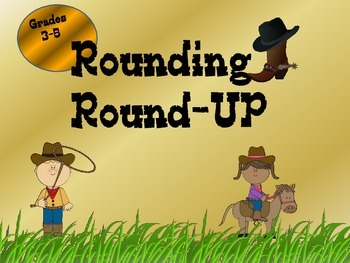 Rounding Round-Up Common Core Task Cards