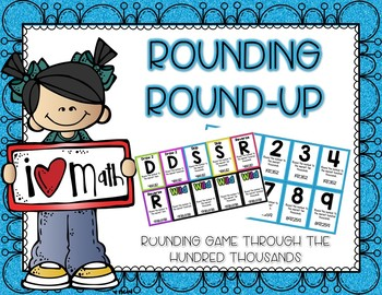 Rounding Round-Up Math Game and Center