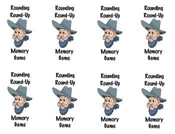 Rounding Round Up Memory Game