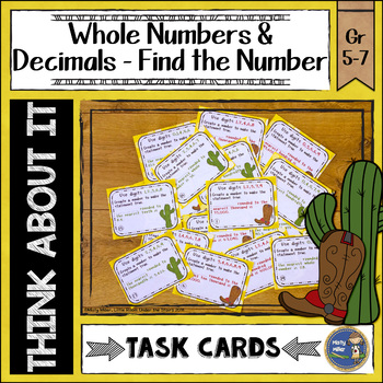 Rounding Roundup Task Cards