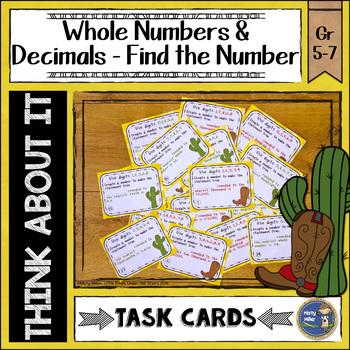 Rounding Roundup Task Cards