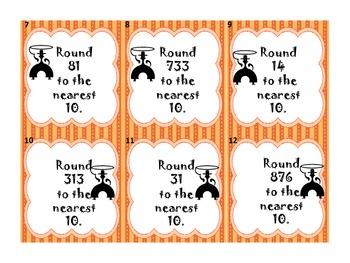 Rounding Roundup Centers Activities Games