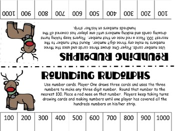 Rounding Rudolphs: Holiday Math Game