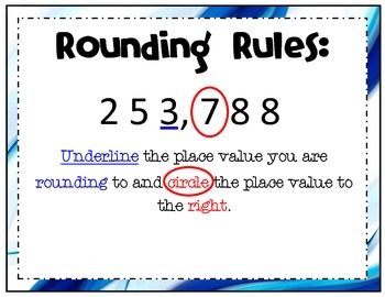 Rounding Rules Anchor