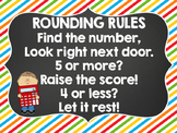 Rounding Rules Poster