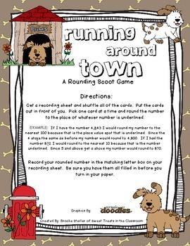 Rounding - Running Around Town Scoot