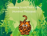 Rounding Scoot Activity/Task Cards - Hundred Thousands Place
