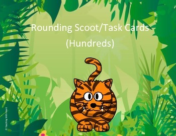 Rounding Scoot Activity/Task Cards - Hundreds Place
