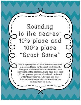 Rounding Scoot Game