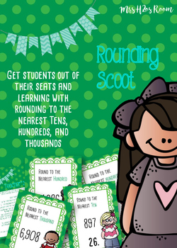 Rounding Scoot (Whole Group Game or Task Cards)