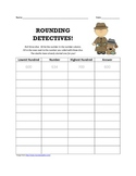 Rounding Sleuths Worksheet & Skill Sheet!