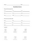 Rounding & Subtraction Practice