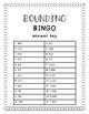 Rounding Task Card Bingo