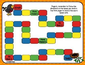 Rounding Task Card Board Game