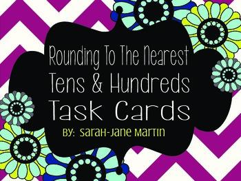 Rounding Task Card Sample