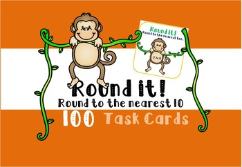 Rounding Task Cards - Nearest 10