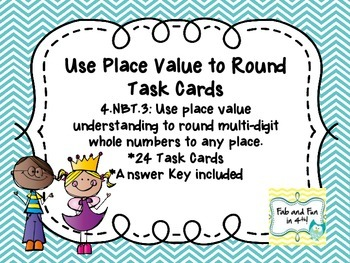 Rounding Task Cards 4.NBT.3