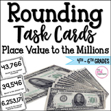 Rounding Task Cards Common Core Aligned for 4th and 5th Grades