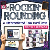 Rounding Task Cards { Common Core & Differentiated for 3rd & 4th Grade } SCOOT