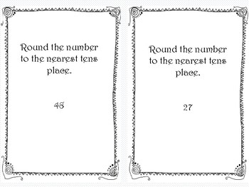 Rounding Task Cards - FREEBIE