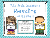 Rounding Task Cards FSA Style