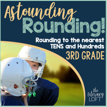 Rounding Task Cards {Football-Themed}