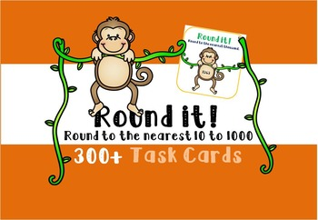 Rounding Task Cards - Nearest 10, 100, 1000