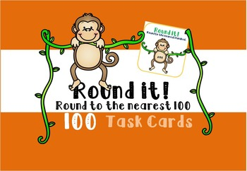 Rounding Task Cards - Nearest 100