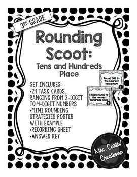 Rounding Task Cards (Scoot)