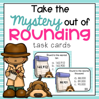 Rounding: Task Cards and Posters