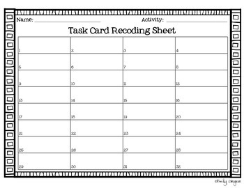 Rounding Task Cards for grades 3-4