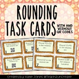 Rounding Task Cards with Self Checking QR Codes