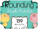 Rounding Task Cards Tens Hundreds Thousands