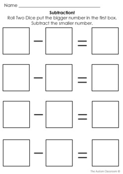 Basic Math Skills Template Worksheets