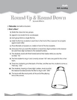 Rounding (Ten-Minute Activities)