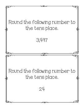 Rounding Tens, Hundreds, Thousands