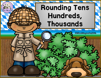 Rounding Tens, Hundreds, and Thousands