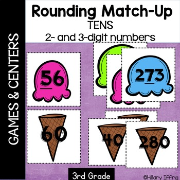 Rounding Tens With 2- and 3-Digit Numbers