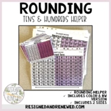 Rounding Tens and Hundreds Tool