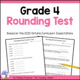 Grade 4 Rounding Test