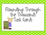 Rounding Through the Thousands Task Cards